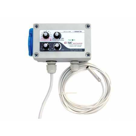 GSE Controlador Hesteresis y temperatura. 1 A